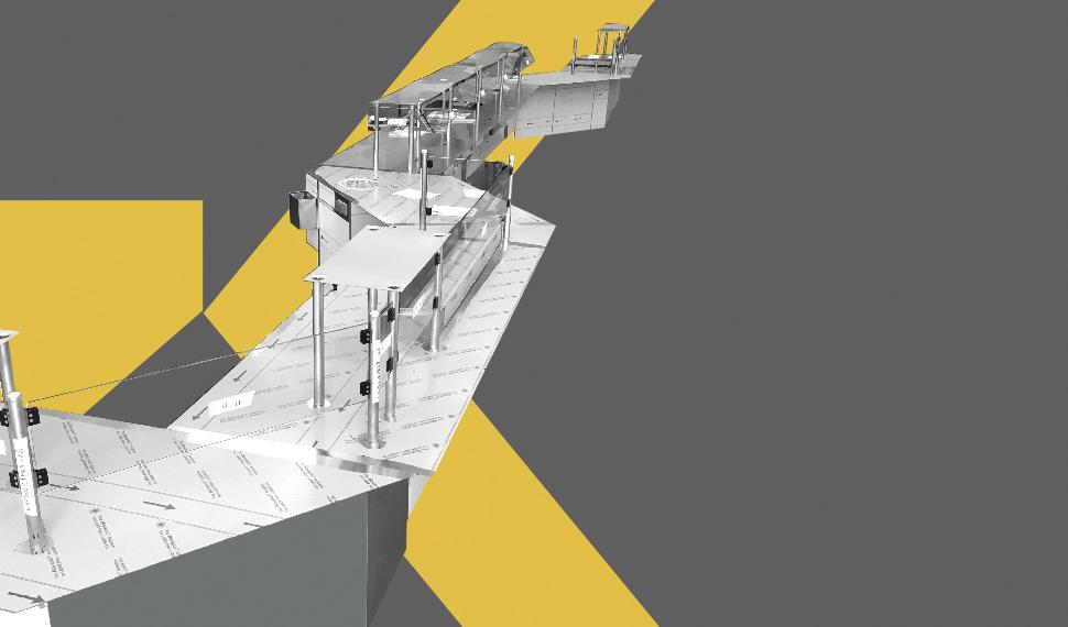 Fornitura di grandi impianti in acciaio per navi inoxking - Grandi impianti lavatrici ...
